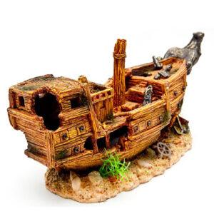 Decor 016 Лодка Gold 32*113*16 см