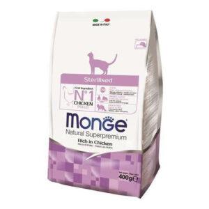 Monge Cat Sterilized корм для стерилизованных кошек 400г