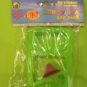 ВАКА Кормушка для рыб двойная с присоской