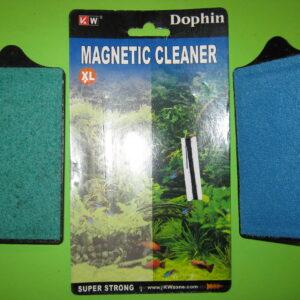 Магнит для очистки стекол  «XL»  12х6,5 см.  (KW)