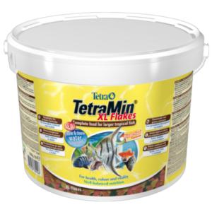 Tetra Min XL корм для всех видов рыб крупные хлопья 10 л (ведро) 2100 гр.