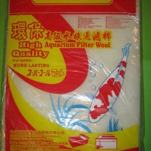БИО-ГУБКА высокопористая тонкой очистки 90х30х2 см, MIX (черная,голубая,желтая)