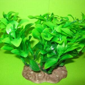 Растение искусственное зеленое (1х10) 12-15 см