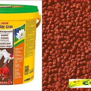 SERA Корм для рыб GOLDY Gran 10 л (2,9 кг) (ведро)