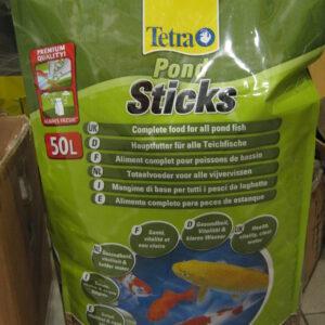 Tetra Pond Sticks корм для прудовых рыб в палочках 50 л