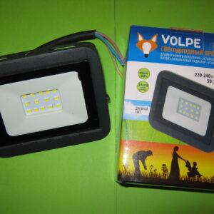 Прожектор светодиодный Volpe 10 Вт, 750 Лм