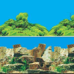 Фон 9023/9064, «Каменное многоцветный/Морской каньон»