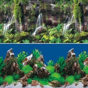Фон 9026/9028, «Тропический водопад/Скалы в глубине»