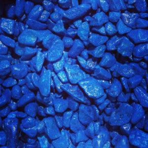 BARBUS Цветная каменная крошка СИНЯЯ 5-10мм (3,5кг)