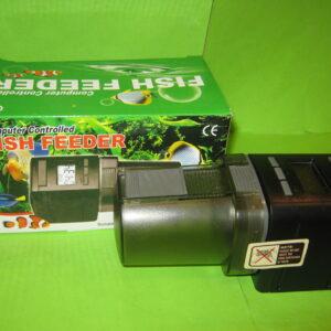 ALEAS автоматическая кормушка для аквариума с большим информативным дисплеем на 1-4 кормлений.