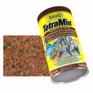 TetraMin корм для всех видов рыб в виде хлопьев 20гр. 100 мл