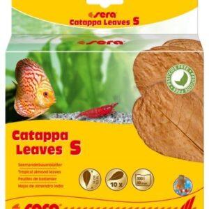 SERA Листья индийского миндаля Catappa Leaves S 14 см (10шт)