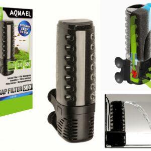 AQUAEL ASAP FILTER 500 5 W, 500 л./ч.,аквариум 50-150 л.