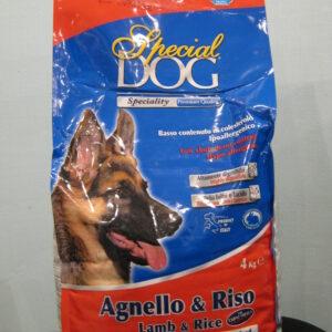 Monge Special Dog корм для собак с особыми потребностями (с чувствительной кожей и пищеварением) ягненок/рис 4 кг