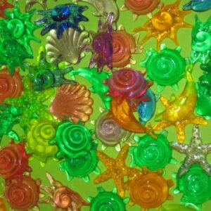 Пластиковые ракушки Sea Shall 10шт.
