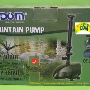 Hidom CP-1000 Помпа — фонтан, 30 W.,1200л/ч, h-2м, шнур 10м., насадки, керамический вал