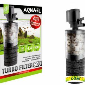 AQUAEL TURBOFILTER 500  Фильтр внутренний 4,4 Вт., 500л/ч.
