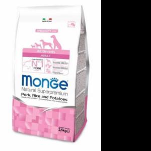 Monge Dog Speciality ExtraSmall корм для собак всех пород свинина с рисом и картофелем 2,5кг