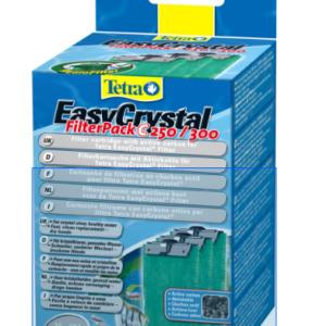 Tetra EC 250/300C фильтрующие картриджи c углем для внутренних фильтров EasyCrystal 250/300 3 шт.