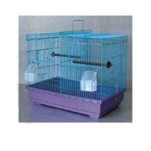 Алиса А504(2 отдела) Клетка для птиц 47*30*36см
