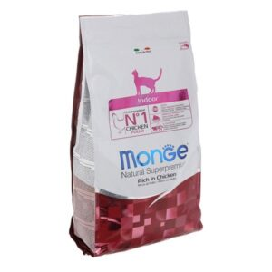 Monge PFB Cat Indoor корм для домашних кошек 10 кг