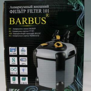 Внешний фильтр BARBUS 650л/ч, 8ватт с комплектом базовых наполнителей