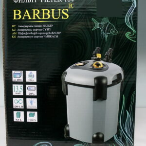 Внешний фильтр BARBUS 1200л/ч, 13ватт с комплектом базовых наполнителей
