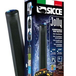 SICCE Сичче Обогреватель JOLLY пластиковый 10 W для аквариумов 10-20 л (55499)
