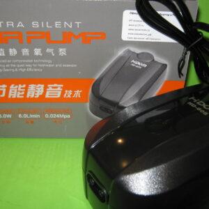 Hidom HD-605 Компрессор, 6.0 W, 2.5 л/мин. х 2, двухканальный с регулятором