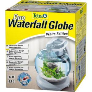 Tetra Cascade Globe Duo Waterfall аквариумный комплекс белый 6,8 л