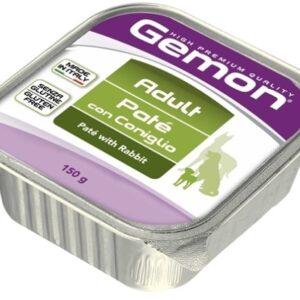 Gemon Dog консервы для собак паштет кролик 150г