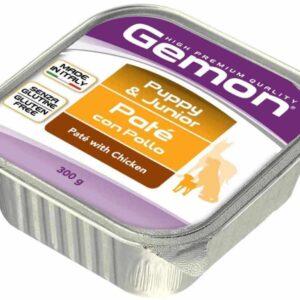 Gemon Dog консервы для щенков паштет курица 300г