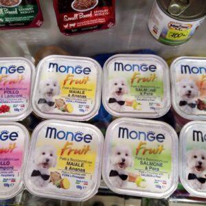 Monge Dog Fruit консервы для собак в ассортименте 100г