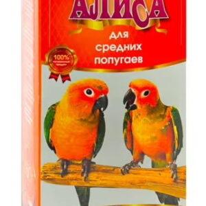 АЛИСА Корм для средних попугаев 450гр