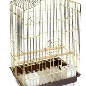 TRIOL 6112 Клетка для птиц ЗОЛОТО