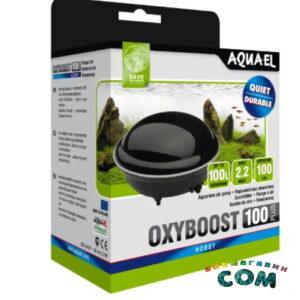 AQUAEL Компрессор OXYBOOST 100 plus, 2.2w,100л/ч., до 100 литров
