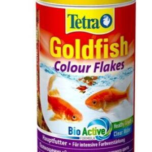 TetraGoldfish Colour корм в хлопьях для улучшения окраса золотых рыб 250 мл