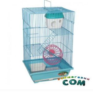 TRIOL Клетка 2203 для мелких животных, эмаль, 300*230*470мм,