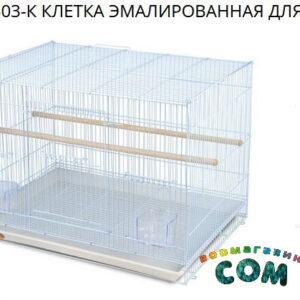 TRIOL  Клетка 503 для птиц, эмаль, 595*410*405мм